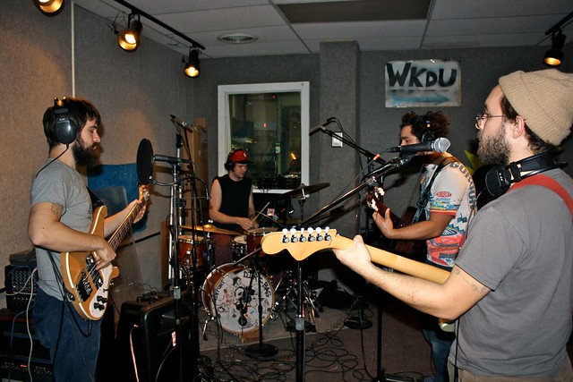 The Extraordinaires Live @ WKDU