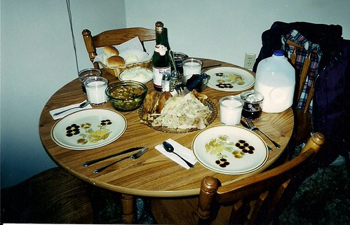 A simple holiday meal - 1999