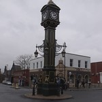 Joseph Chamberlain Memorial Clock and HSBC bank - Jewellery Quarter, Birmingham