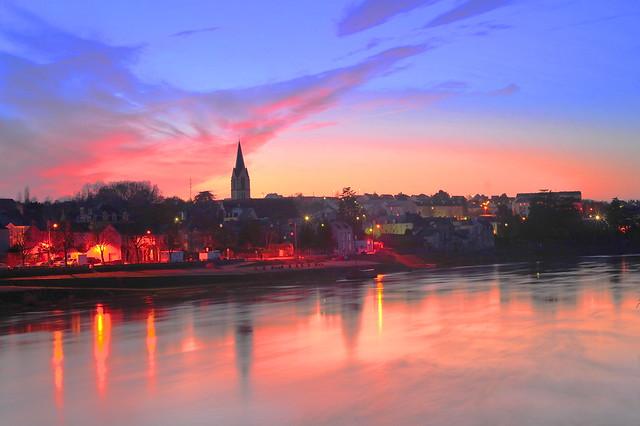 Coucher de Soleil a Chalonnes sur Loire | Flickr - Photo Sharing!