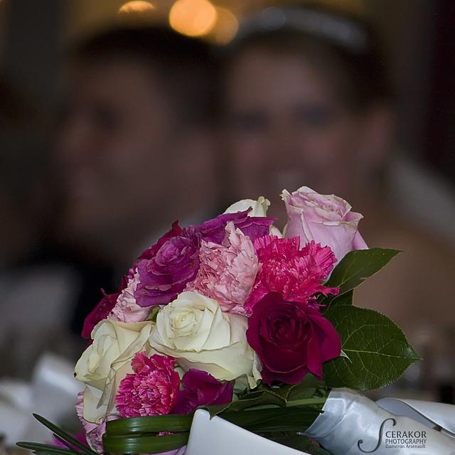 Bokeh Flowers Wedding