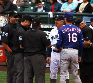 Coaches and Umpires