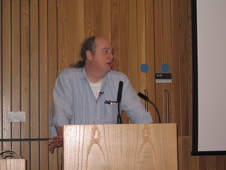 Clifford Lynch gives the Closing Keynote