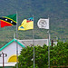 St. Kitts & Nevis National Colors