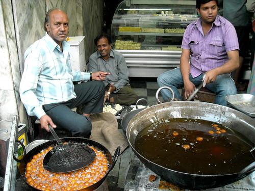 Making Gulab Jamun