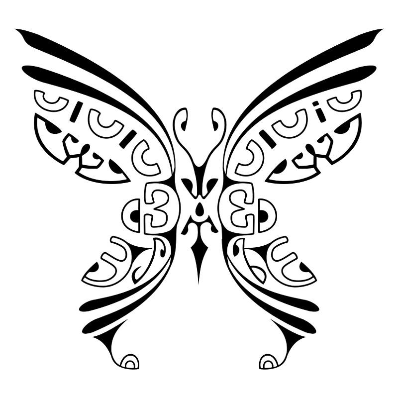 ... - Maori - Tahiti – Tattoo - Polynesian Tattoo Borboleta - kirituhi