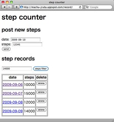 GAE/JRuby sample app (using Datastore)
