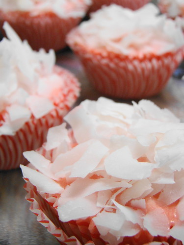 Strawberry Coconut Cuppies