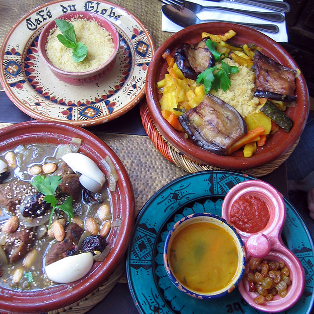 Dinner at The Cafe du Globe, Bath