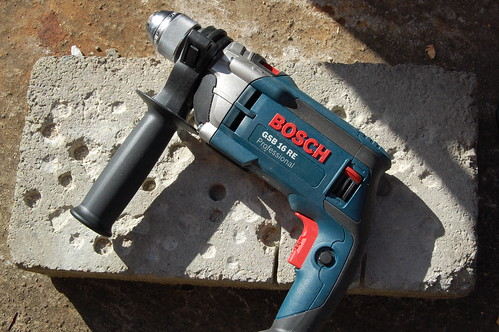 first look photos bosch gsb 16 re impact drill. Black Bedroom Furniture Sets. Home Design Ideas