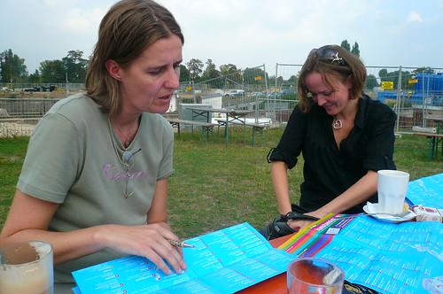 Karte der Kunstansichten checken bei Hafen 2, September 2009