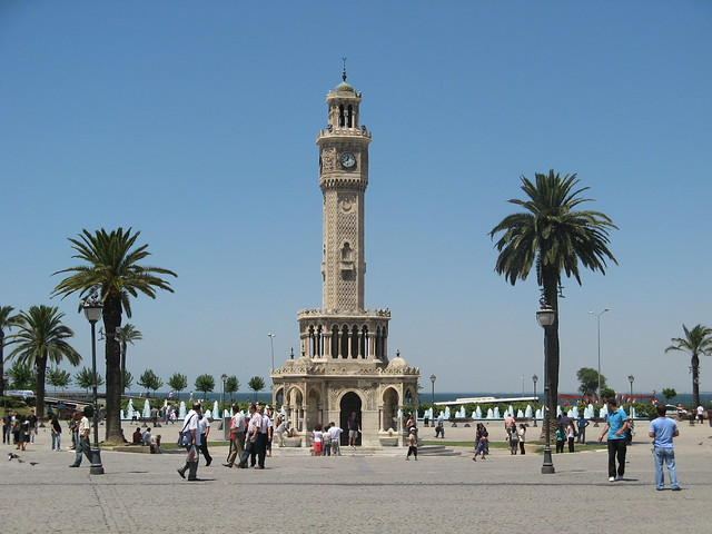 Header of İzmir Clock Tower