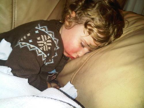 Soulman sleeping