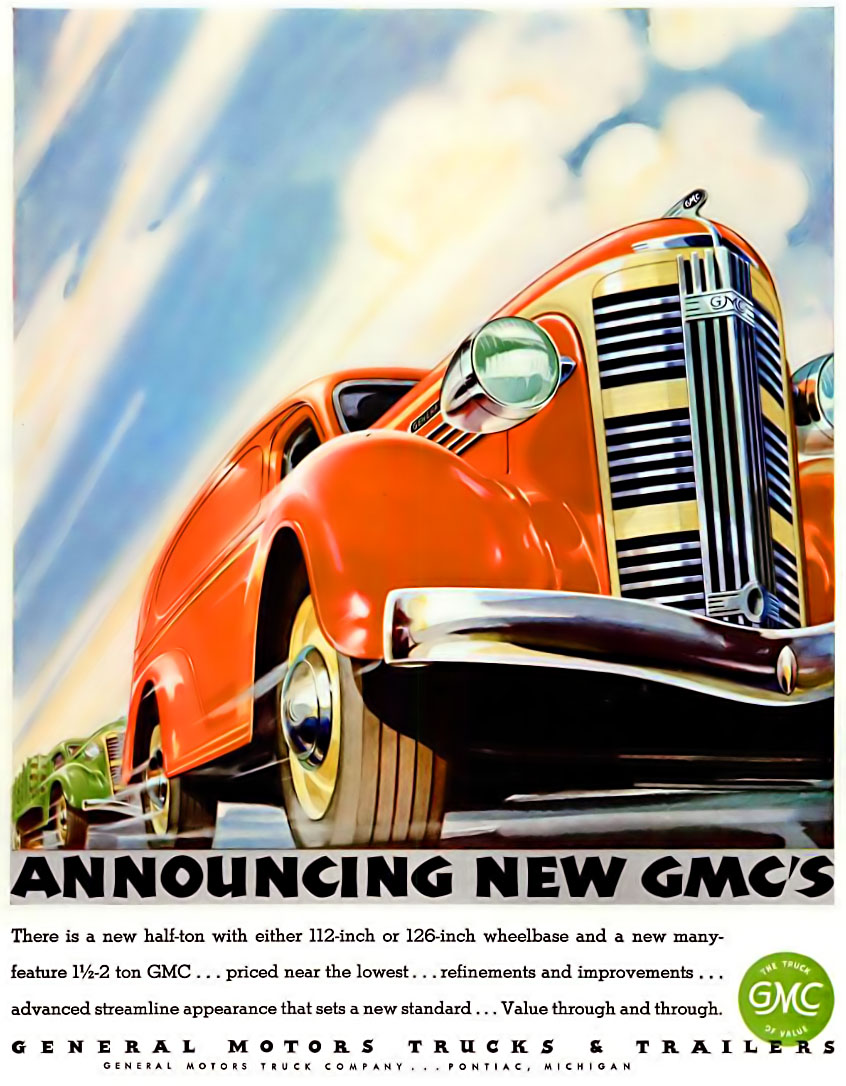 GMC - published in Life - November 23, 1936