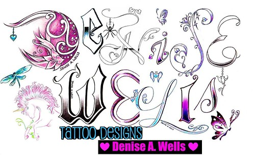 Tattoo Design by Denise A. Wells