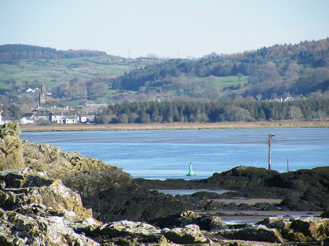 Kirkcudbright from across the Dee
