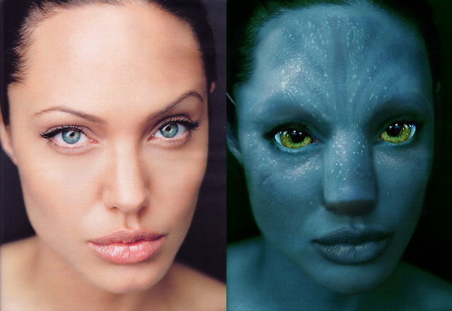angelina-AVATAR  - comparacion