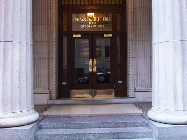 Front entrance, Association of the Bar of the City of New York