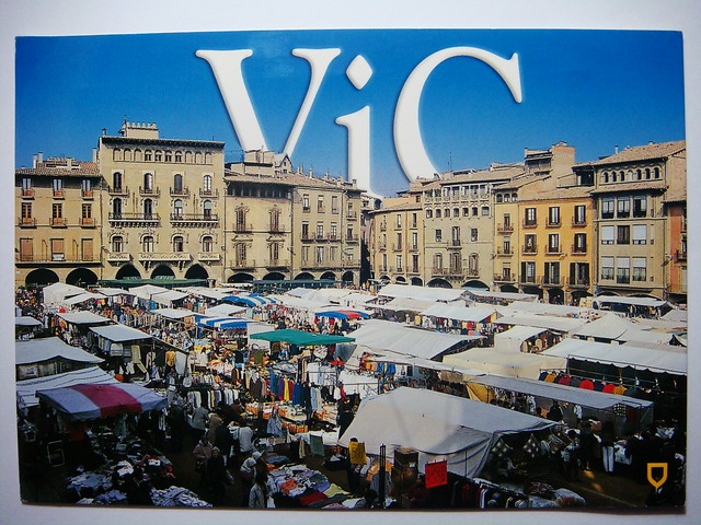 Vic Spain  city images : Tuesday Market at Vic, Spain | Flickr Photo Sharing!