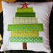 Tree Pillow by Darci - Stitches&Scissors