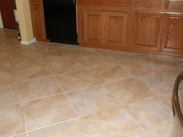Tuscan kitchen floor flickr photo sharing for Tuscan floors
