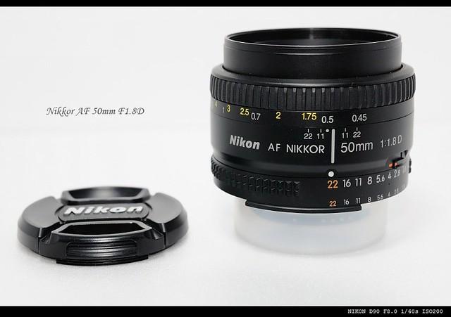 Nikkor AF 50mm f1.8D