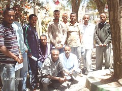 Group picture  1st meeting of our member  in Mekele (Solomon,Enun,Admasu,Geyesus,Habtamu,Teferi ,Getahun shumuye,Tefera,Tedros,Tsegay,Teferi mulat from L to R