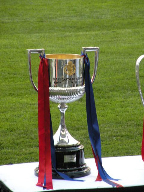 Copa Del Rey trophy | Flickr - Photo Sharing!