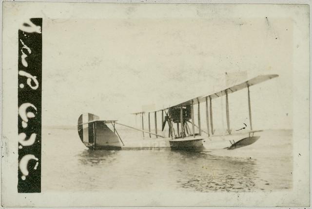 Old sea plane