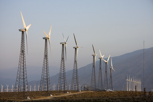 Wind Farm, San Gorgonio Pass, Palm Springs CA