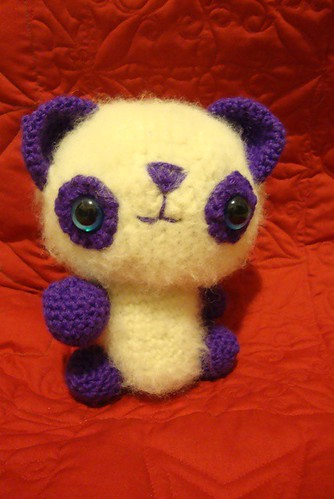 Crochet-along bear
