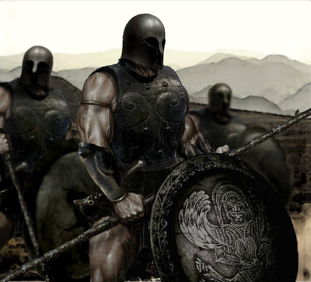 a history of spartan warfare A greek hoplite armed with an aspis and a doru the ancient greeks went through their dark age in the years leading up to the 8th century bc after the 8th century bc until the 6th century ad this period can be classed as the ancient greek period of history.