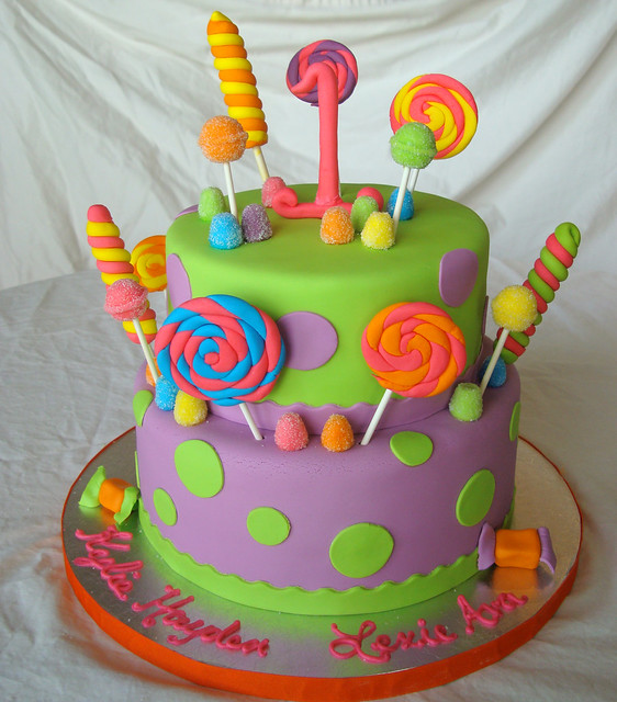 Candyland Candy Land Themed Birthday Cake By South Florida Cake Lady Flickr Photo Sharing