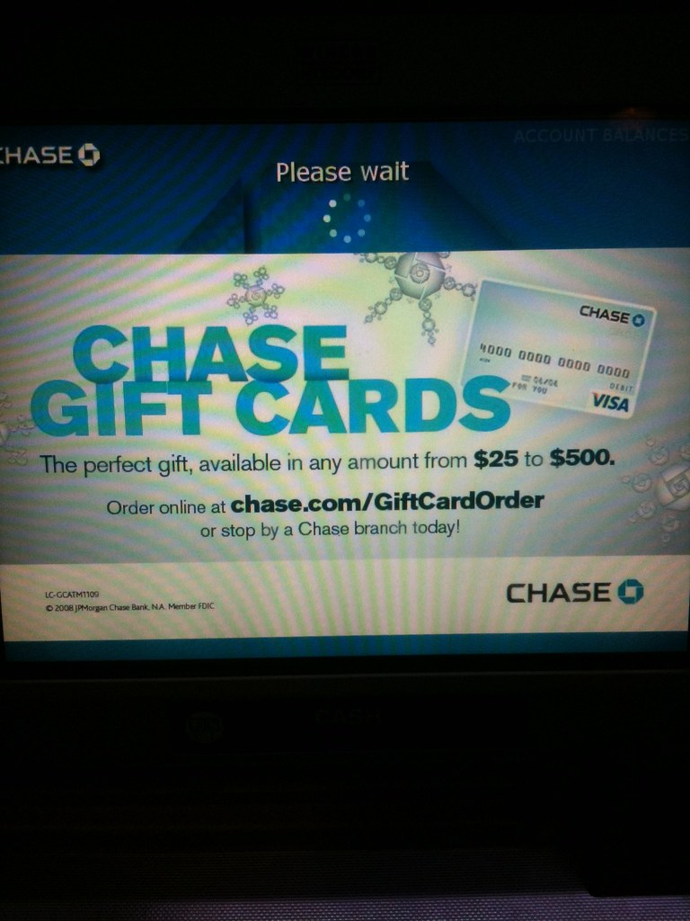 CHASE ATM SCREEN | DC Miami | Flickr