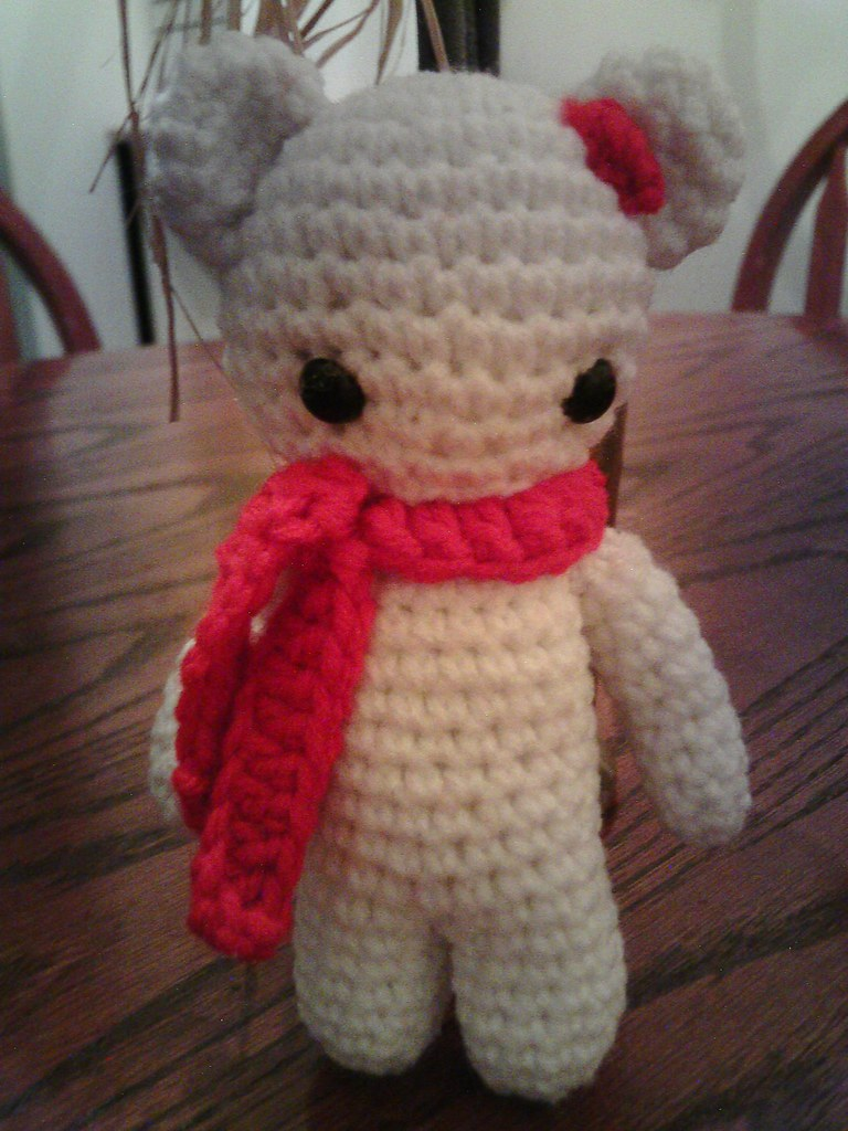 Little Muggles | FREE Little Muggles Amigurumi Baby Bear Ornament ... | 1024x768
