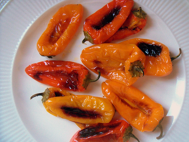 Roasted Sweet Mini-Peppers | Flickr - Photo Sharing!
