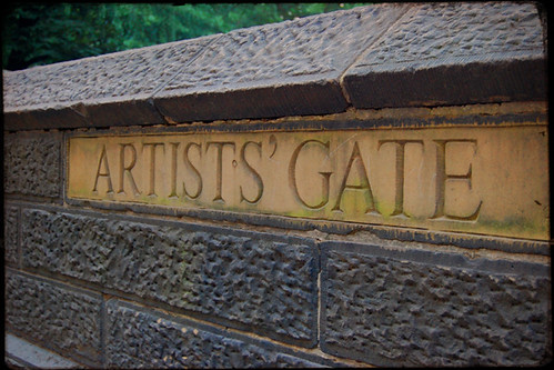 FLK NYC Artists Gate