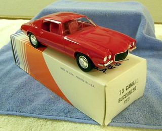 1973 Chevrolet Camaro Promo Model Car - Buccaneer Red