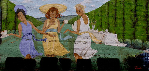 Building Mural   Tea Party