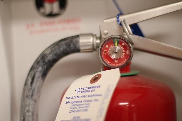 fire extinguisher pressure guage