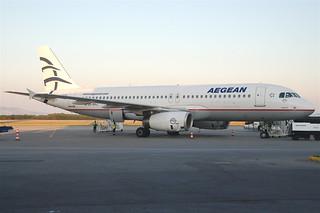 Aegean Airlines Airbus A320-232; SX-DVJ@KGS;12.06.2011/600ab