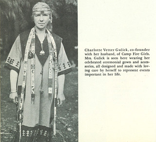 Charlotte Gulick, co-founder of Camp Fire Girls