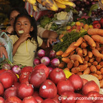 Apples and Carrots at La Esperanza Market, Honduras