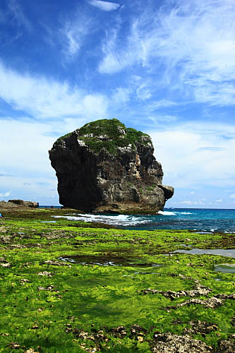 7T68墾丁船帆石-珊瑚礁岩