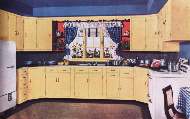 1950 Kitchen by Curtis Woodwork