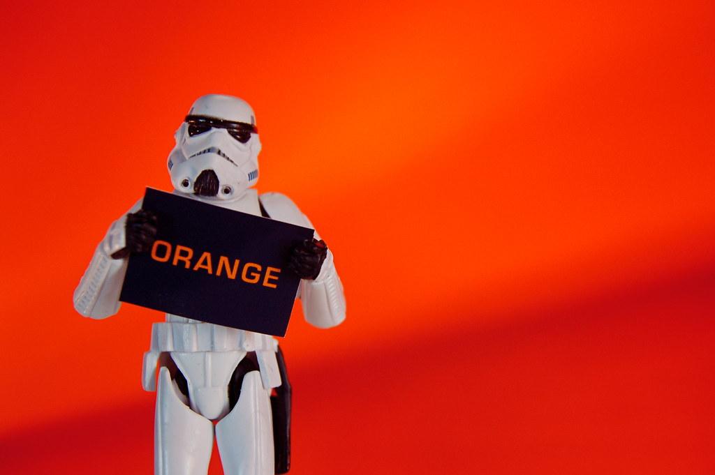 Imperial Art Appreciation: Orange