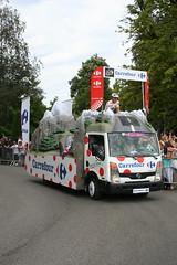 Carrefour - polka dot jersey sponsors