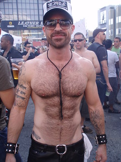 FOLSOM STREET FAIR 2009 - (SAFE PHOTO) MR HAIRY TOP is one of the TOP viewed