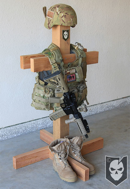 Tactical Gear Stand 04 Flickr Photo Sharing