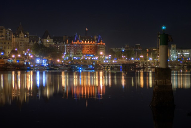 Victoria B.C Night Views (HDR series)